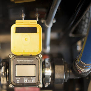 fluid pump display