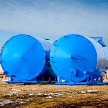 Above ground UL 142 storage tanks