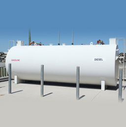 Above ground UL 2085 storage tanks