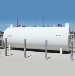 Above ground UL 2085 storage tanks