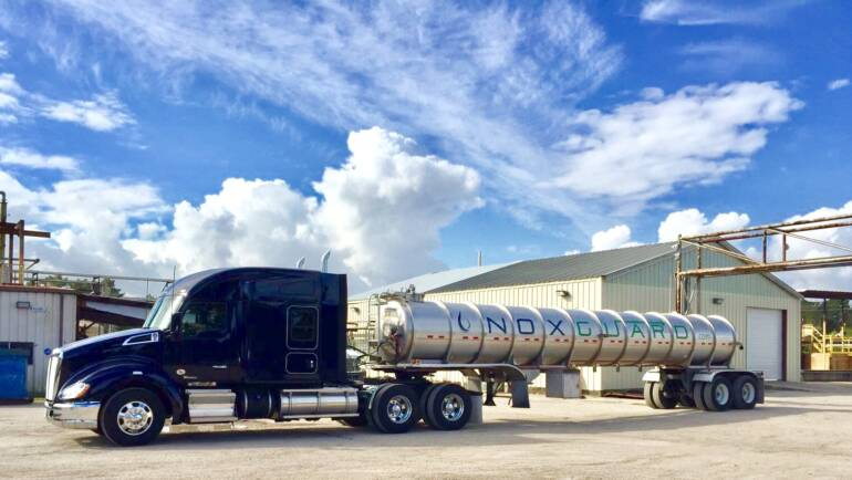 Our fleet of trailers and pipes dedicated to transporting DEF is now larger.
